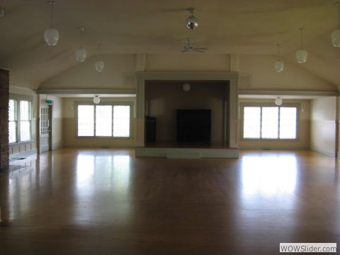 Clubhouse Inside Empty